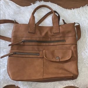 Tan American Eagle purse